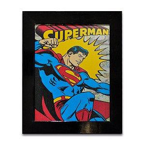 Quadro Super Homem 01 - Pequeno