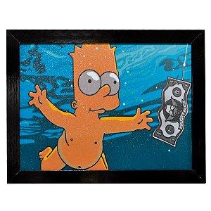 Quadro do Bart Simpson - Grande