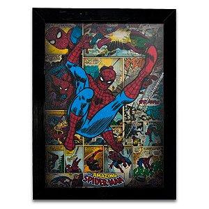 Quadro Homem Aranha Quadrinhos 04 - Grande