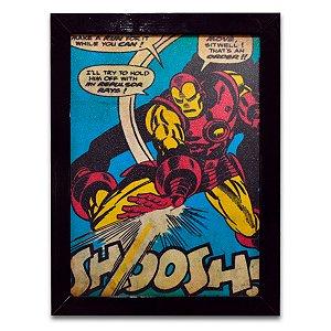 Quadro Homem de Ferro Quadrinhos - Grande
