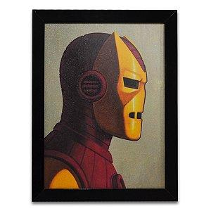 Quadro Homem de Ferro Quadrinhos 06 - Grande