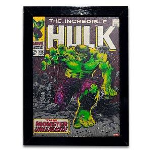 Quadro O Incrivel Hulk Quadrinhos - Grande