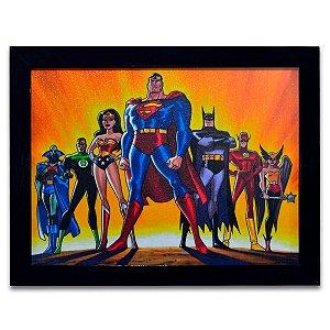 Quadro Liga da Justiça - Grande