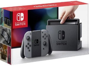 Nintendo Switch 32GB - Cinza