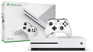Console Xbox One S 1TB - 4k - Controle Wireless - Branco