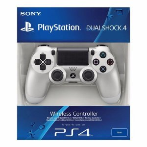 Controle Playstation Dual Shock 4 Ps4 Original - Prata