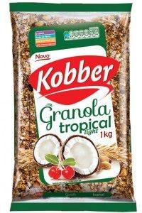 Granola Tropical Light - Coco, Castanhas e Acerola - Kobber