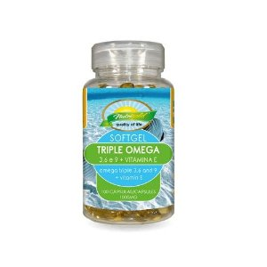 Triple Ômega (3, 6 e 9) + Vitamina E - 100cáps Nutrigold