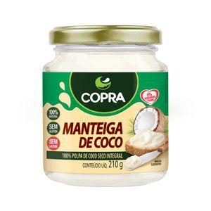 Manteiga de Coco Copra - 210g