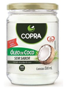 Óleo de Coco Sem Sabor - Copra 500ml