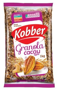 Granola Kobber Natural Light Sabor Cacau 1kg