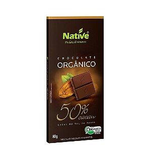 Chocolate Orgânico Native 50% Cacau