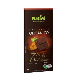 Chocolate Orgânico Native 75% Cacau