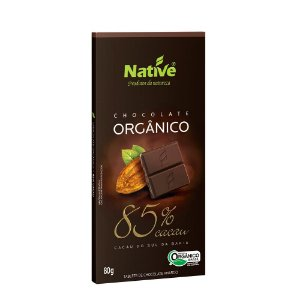 Chocolate Orgânico Native 85% Cacau