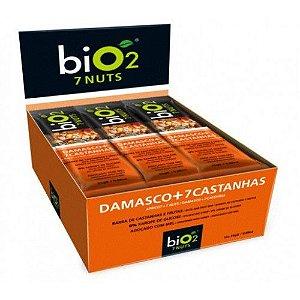 Barra de Cereal Bio2 Damasco + 7 Castanhas 12un de 25g