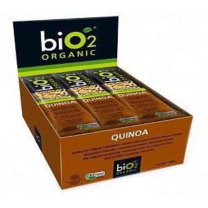 Barra de Cereal Bio2 Organic Quinoa 12un de 25g