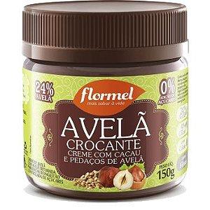 Creme de Avelã Crocante Zero Açúcar Flormel 150g