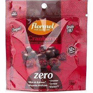 Cranberry Coberto de Chocolate Zero Açúcar - Flormel