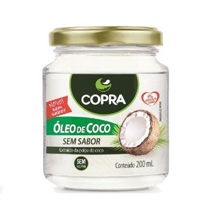 Óleo de Coco Copra - 200ml Sem Sabor