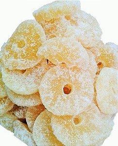 Abacaxi Cristalizado a Granel 250g