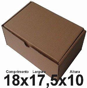 25 Caixas de Papelão para envio Correios Sedex Pac Nº06 C:18 X L:17,5 X A:10 cm