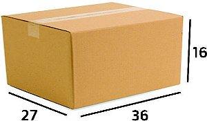 25 Caixas de Papelão Correios Sedex Pac Nº19 - C:36 X L:27 X A:16,5 cm