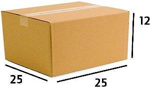 25 Caixas de Papelão Correios Sedex Pac Nº17 - C:25 X L:25 X A:12 cm