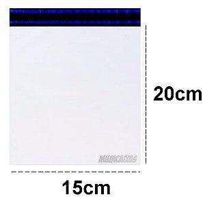 50 Envelopes Plástico de Segurança com Lacre Correio Sedex Pac 15X20 C/ Bolha