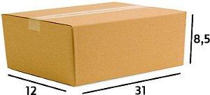 25 Caixas de Papelão Correios Sedex Pac Nº27 C:31 X L:12 X A:8,5 cm