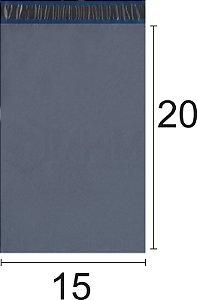 Envelope Plástico de Segurança com Lacre Economy 15x20 cm