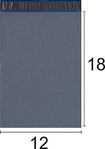 Envelope Plástico de Segurança com Lacre Economy 12x18 cm