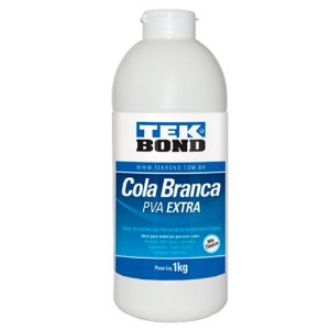 Cola Branca PVA Extra 1kg - TEKBOND