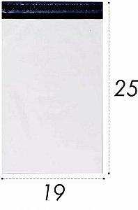Envelope Plástico de Segurança Lacre 19x25 cm