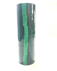 6 Rolos  Fita Adesiva verde   48mm x 50 metros Alltape