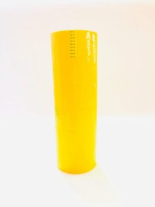 6 Rolos Fita Adesiva Amarela   48mm x 50 metros Alltape