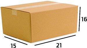 Caixa de Papelão Ecommerce Sedex Correios  Nº08 21X15X16