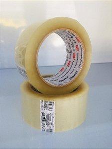 Fita adesiva de Transparente 45mm x 100 metros DUREX -3M