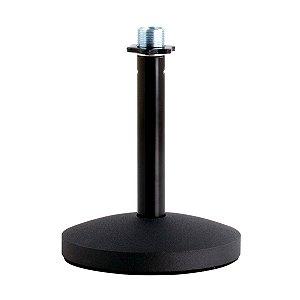 Suporte De Mesa Para Microfone Superlux D1 Pedestal Fixo