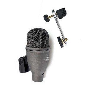 Microfone Superlux FK2 Com Clamp Dmc03