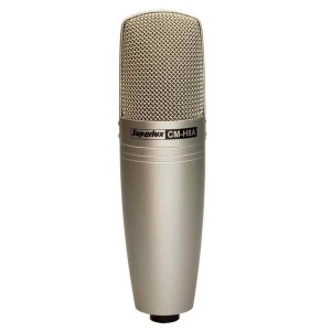 Microfone Vocal Broadcast Gravação Superlux Cmh8a