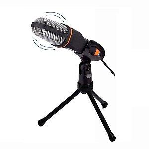 Microfone Condensador USB Gravação Vídeos KP916