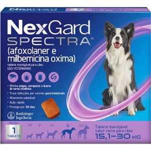 Nexgard Spectra G 4,0G/15,1-30kg