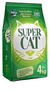 Areia Sanitária Super Cat 4kg