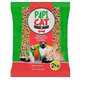 Granulado Sanitário Papi Cat 2kg