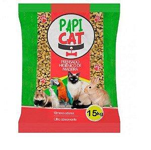 Granulado Sanitário Papi Cat 15kg