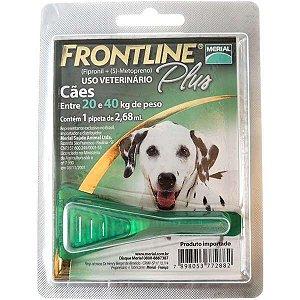 Frontline Plus Cães 2,68ml 20-40kg