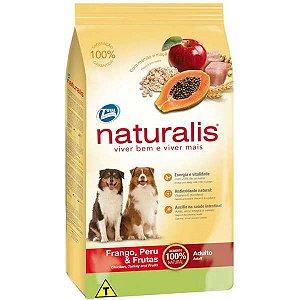 Naturalis Adultos - Frango/Peruu/Fruta 15kg