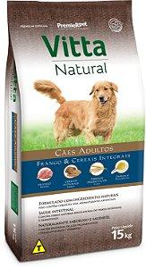 Vitta Natural Adultos - Frango/Cereais 15kg