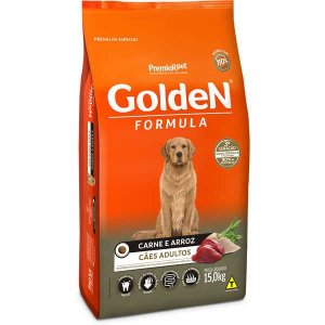 Golden Fórmula Adultos - Carne/Arroz 15kg