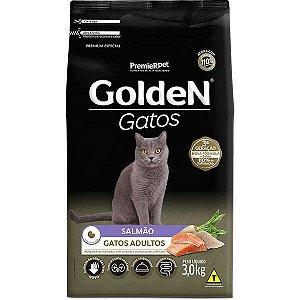 Golden Fórmula Gatos Adultos - Salmão 3kg